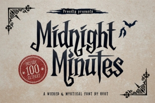 Midnight Minutes Font Download