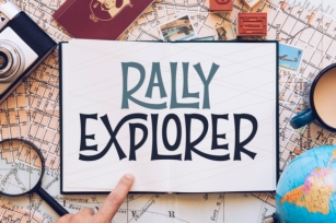 Rally Explorer Font Download