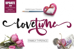Love Time Font Download