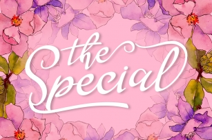 The Special Font Download