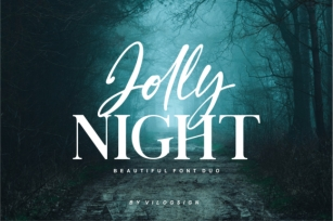 Jolly Night Duo Font Download