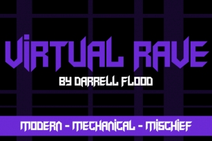 Virtual Rave Font Download