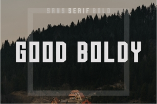 Good Boldy Font Download