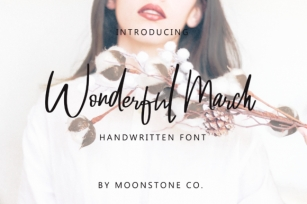Wonderful March Font Download