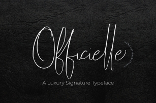 Officielle Font Download