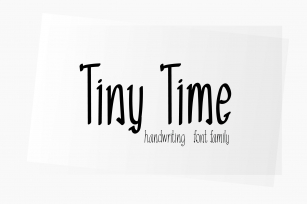Tiny Time Font Download