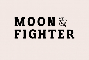 NEW UPDATE_MOON FIGHTER Font Download