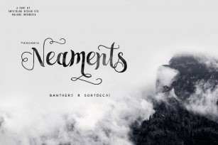 Neaments Typeface Font Download
