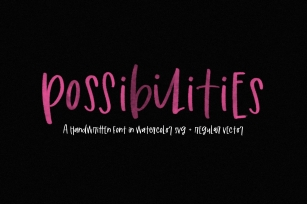 Possibilities Font Download