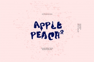 Apple  Peach Font Download