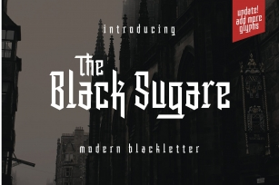 The Black Sugare [UPDATE] Font Download