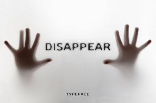 DISAPPEAR FONT Font Download
