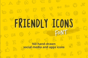 Friendly Icons Font Download