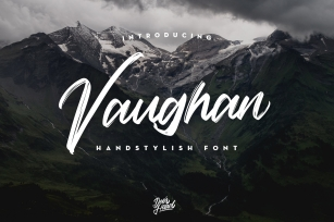 Vaughan Handstylish Font Download