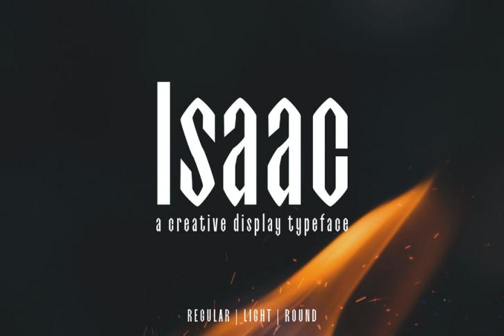 Isaac Display Font Family Font Download
