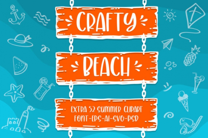 Crafty Beach Font Download