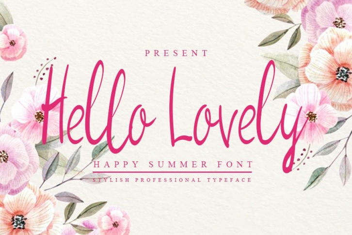 Hello Lovely Font Download