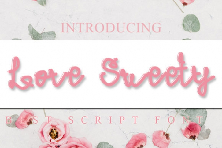 Lovely Sweety Font Download