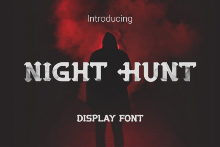 Night Hunt Font Download
