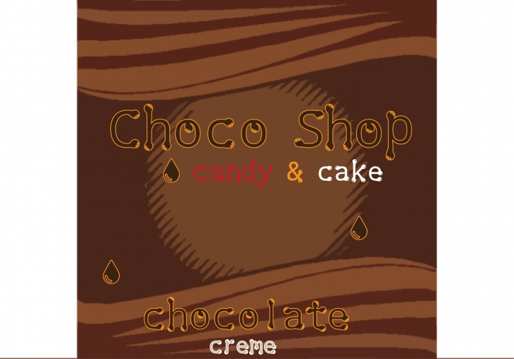 Choco Shop Font Download