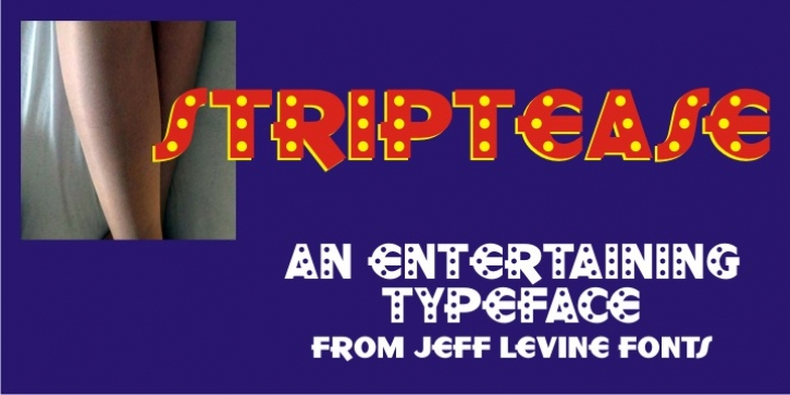 Striptease JNL Font Download
