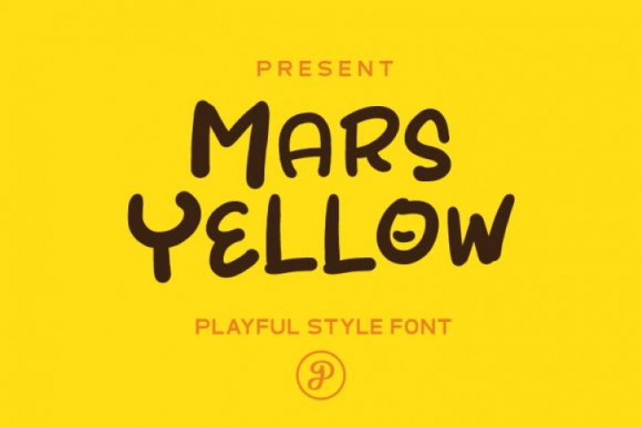 MarsYellow Font Download