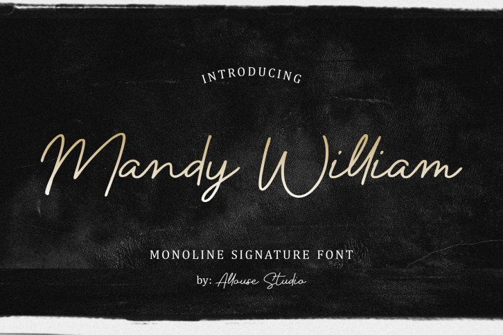 Mandy William Font Download