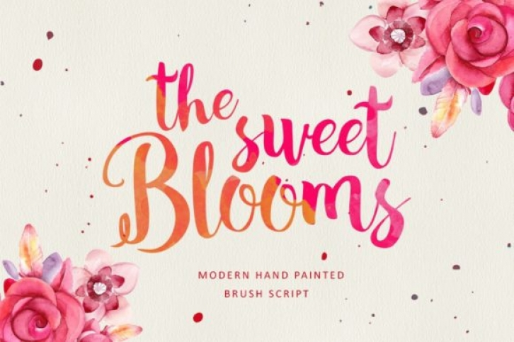 The Sweet Blooms Font Download