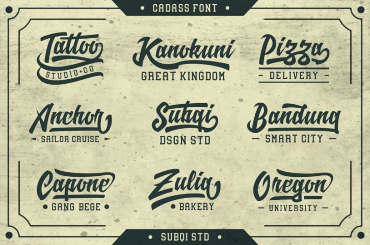 Cadass Font Duo Font Download