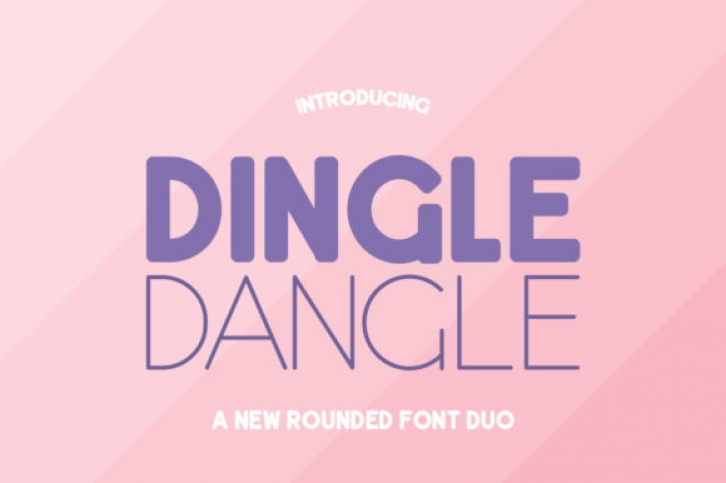 Dingle Dangle Duo Font Download