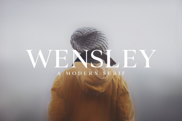 Wensley Modern Serif Family Font Download